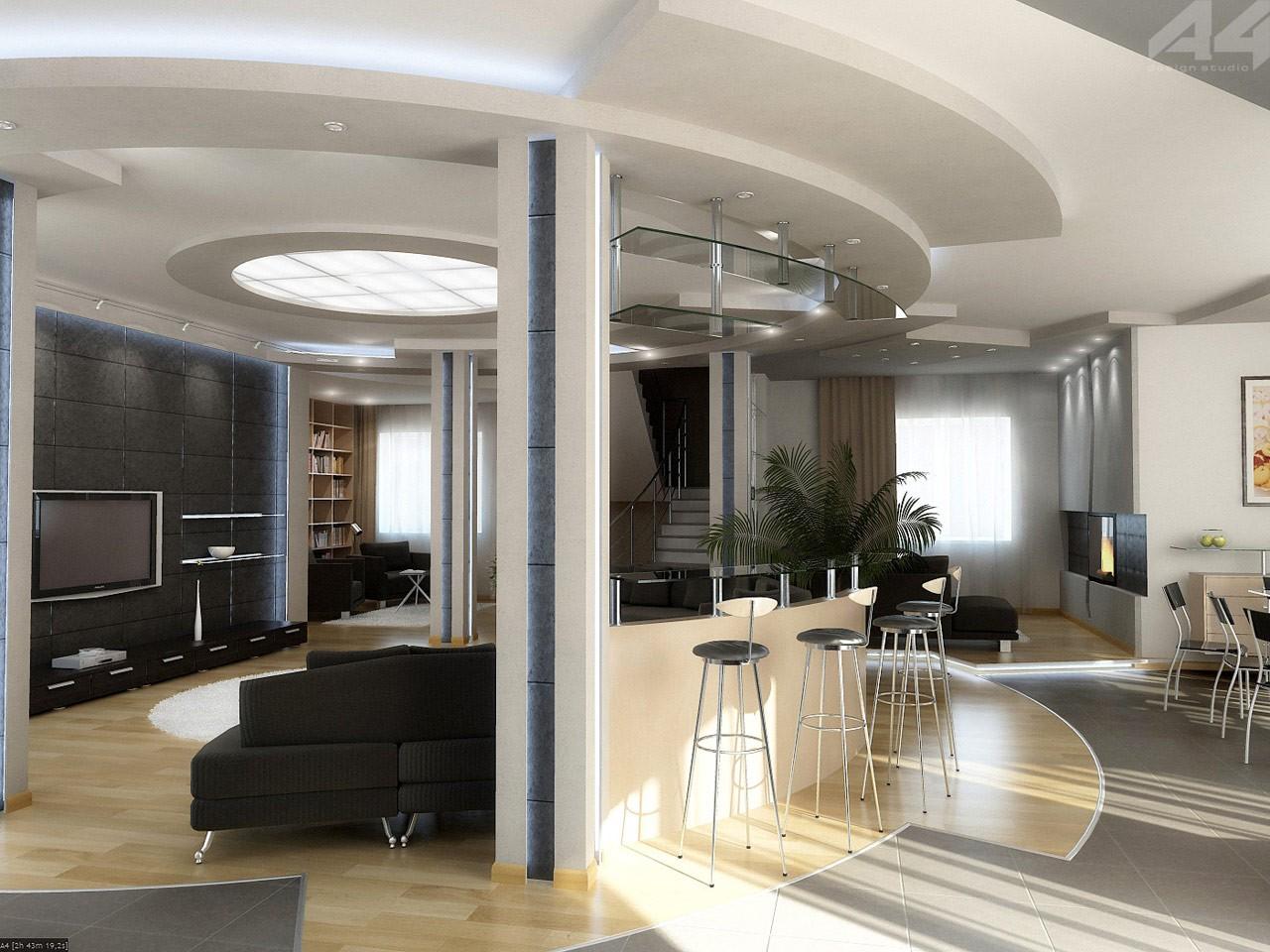 Sfondi camera interior design tenuta atrio pavimento casa
