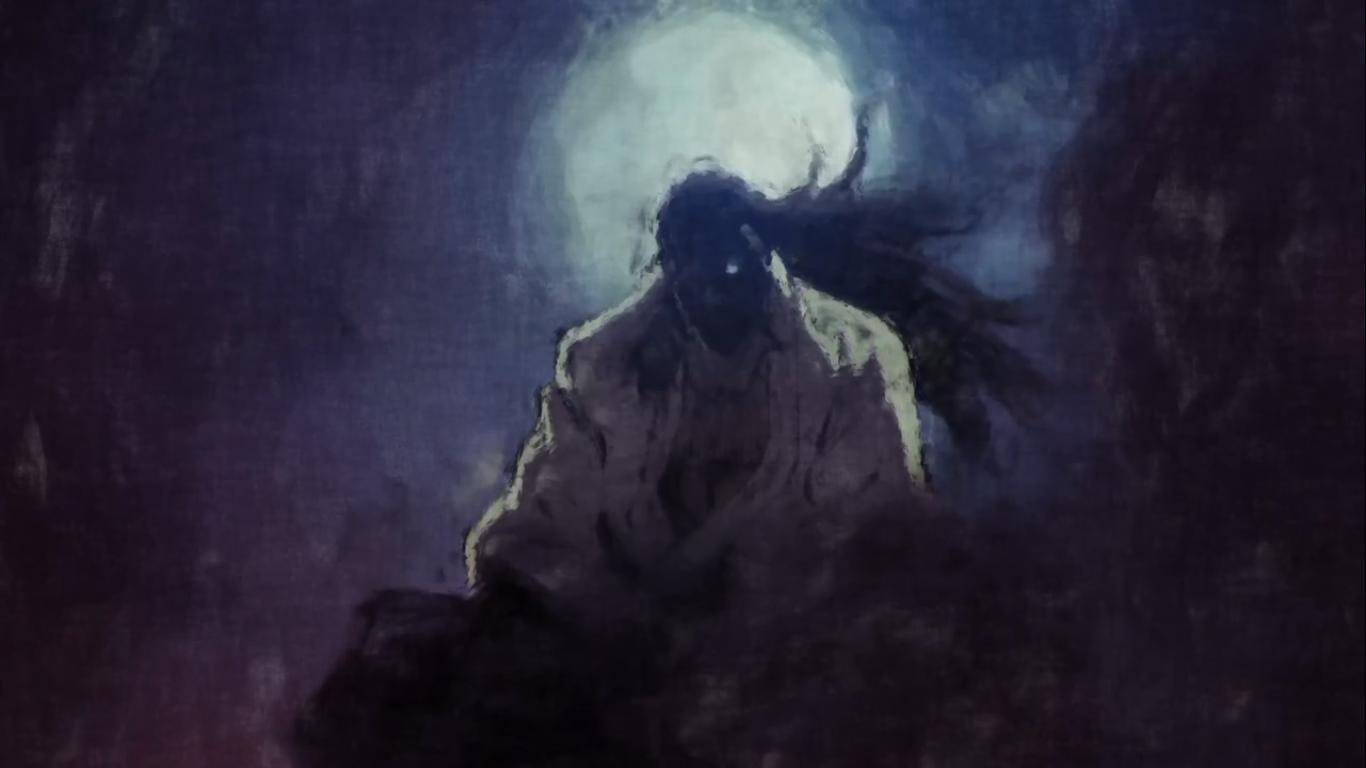 wallpaper anime cave drifters darkness screenshot 1366x768