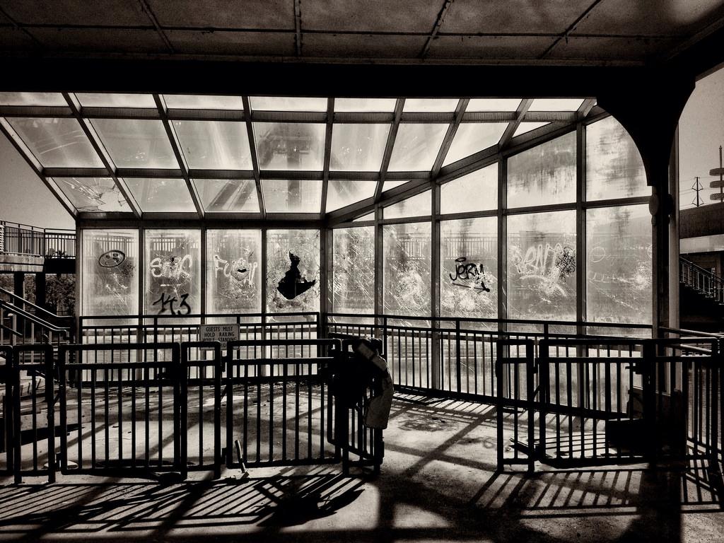 Wallpaper Blackandwhite Abandoned Dark Decay Neworleans Fair