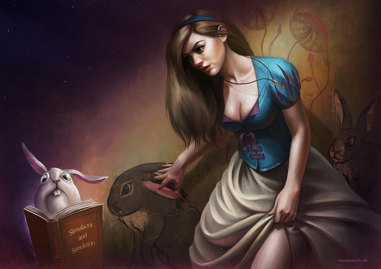 Алиса в стране чудес прикольные картинки