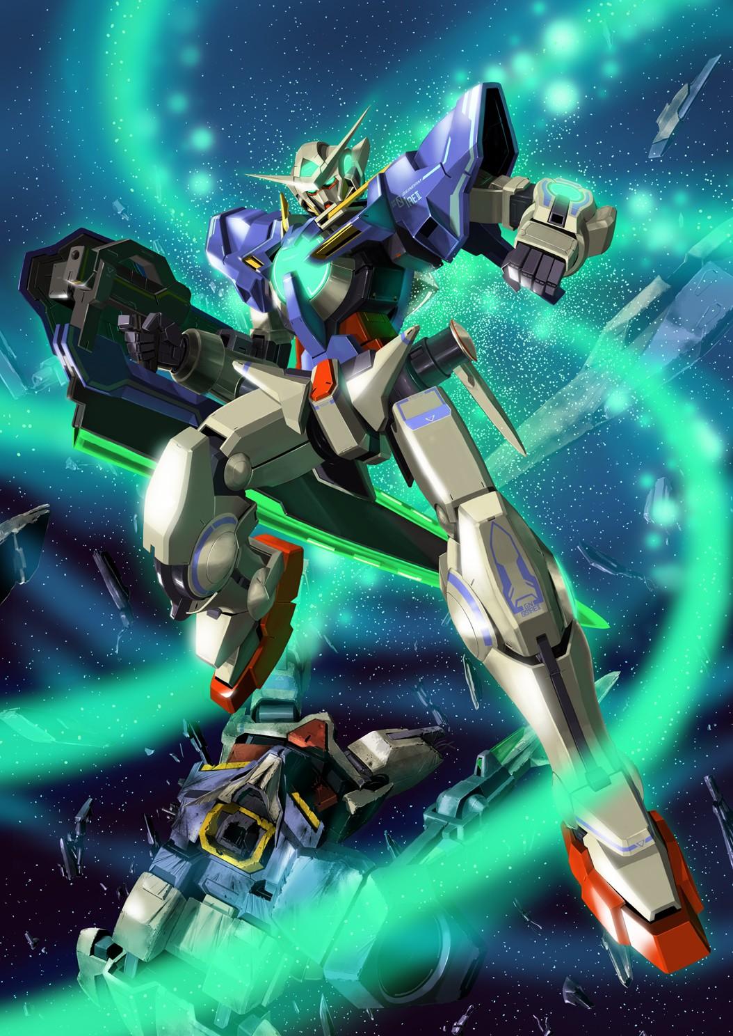 Wallpaper Anime Space Toy Machine Mobile Suit Gundam 00