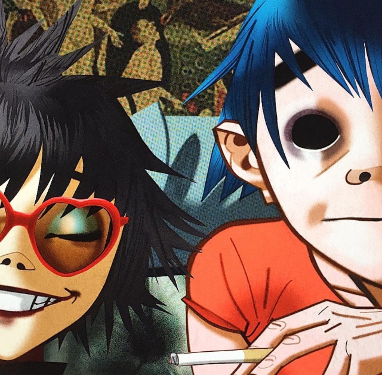 Wallpaper Illustration Anime Cartoon Jamie Hewlett