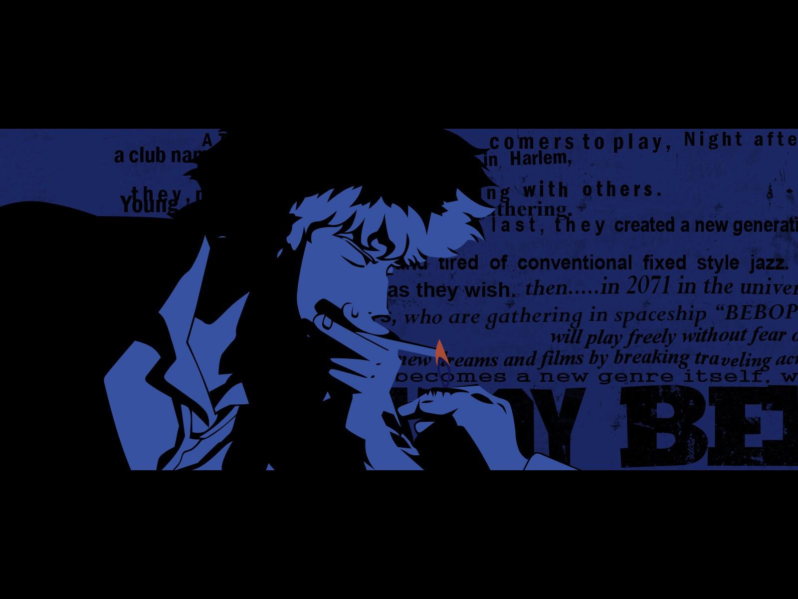 Wallpaper Anime Boys Text Smoking Cartoon Cowboy Bebop Spike Spiegel Screenshot Font 1600x1200 Lodbrok 251282 Hd Wallpapers Wallhere