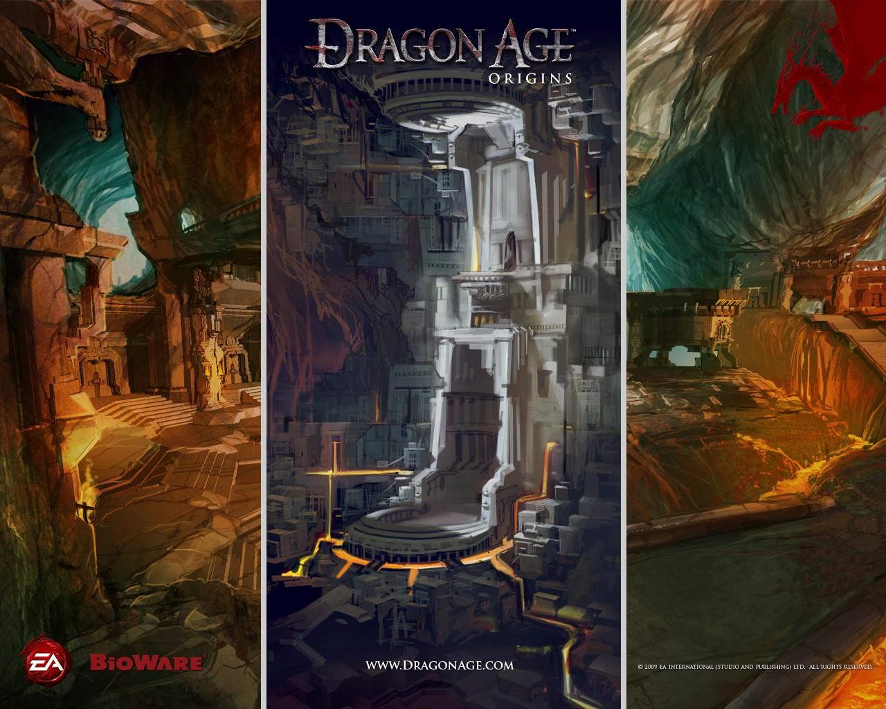 Fond Décran Jeux Vidéo Dragon Age Affiche Dragon Age Origins
