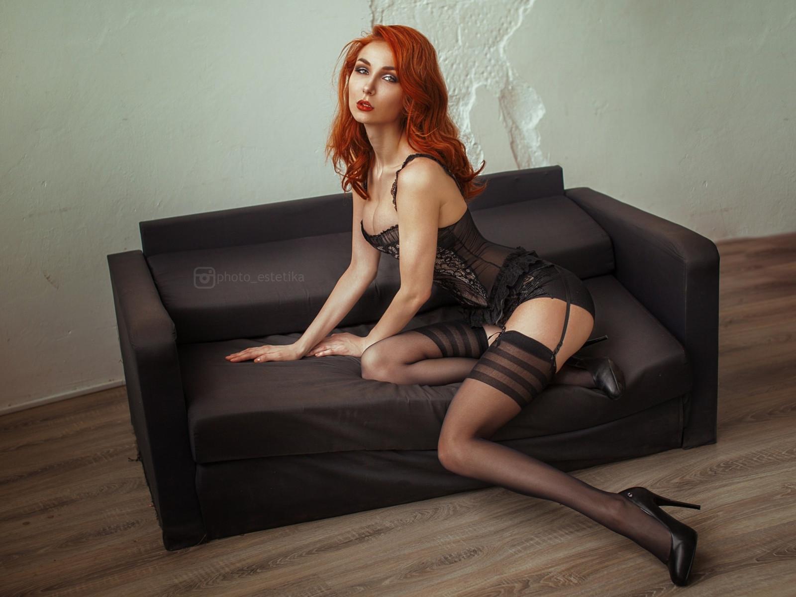 Redhead Stockings