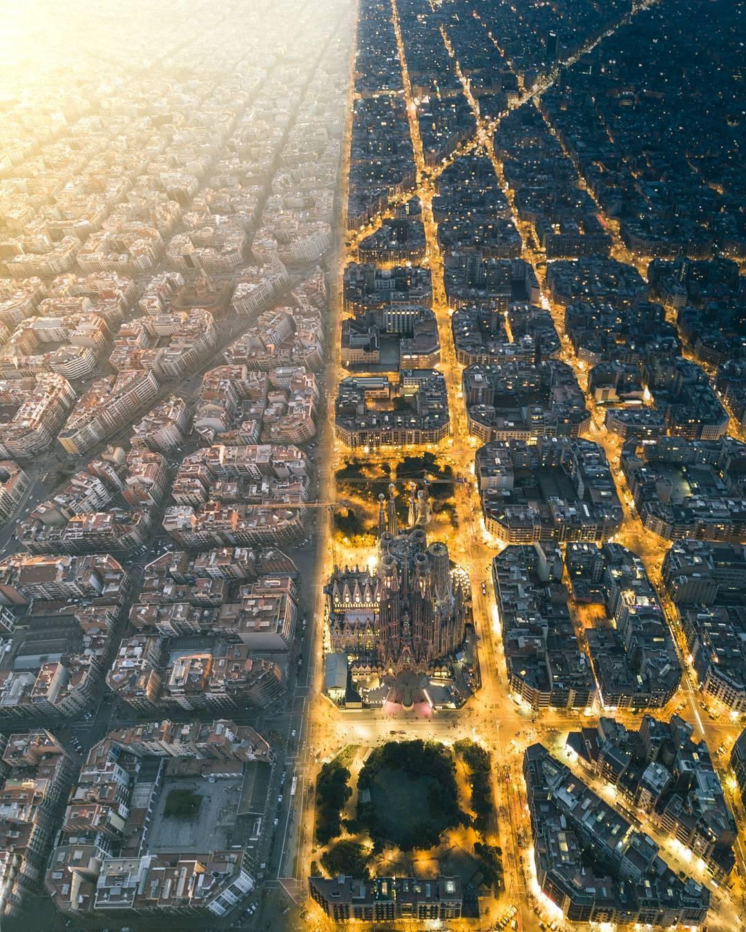 デスクトップ壁紙 建築 建物 都市景観 バルセロナ スペイン