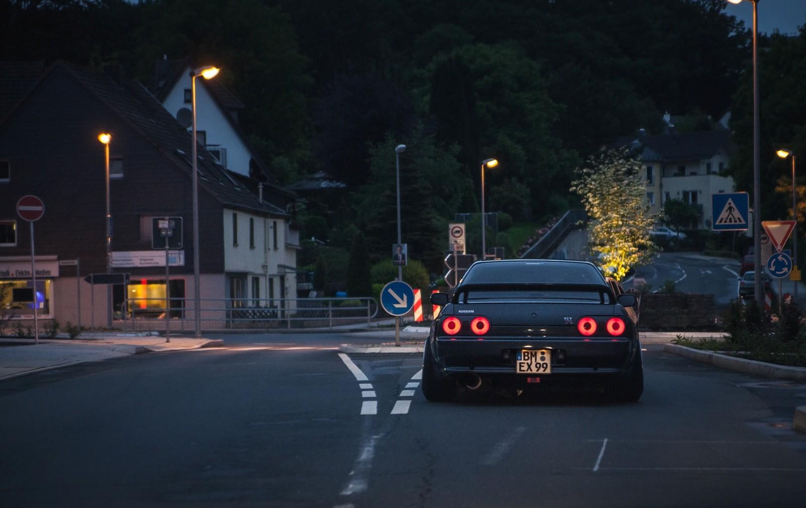 Wallpaper : Japan, forest, street light, portrait, night ...