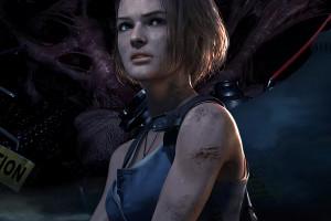 Wallpaper Resident Evil 3 Remake Video Games Video Game