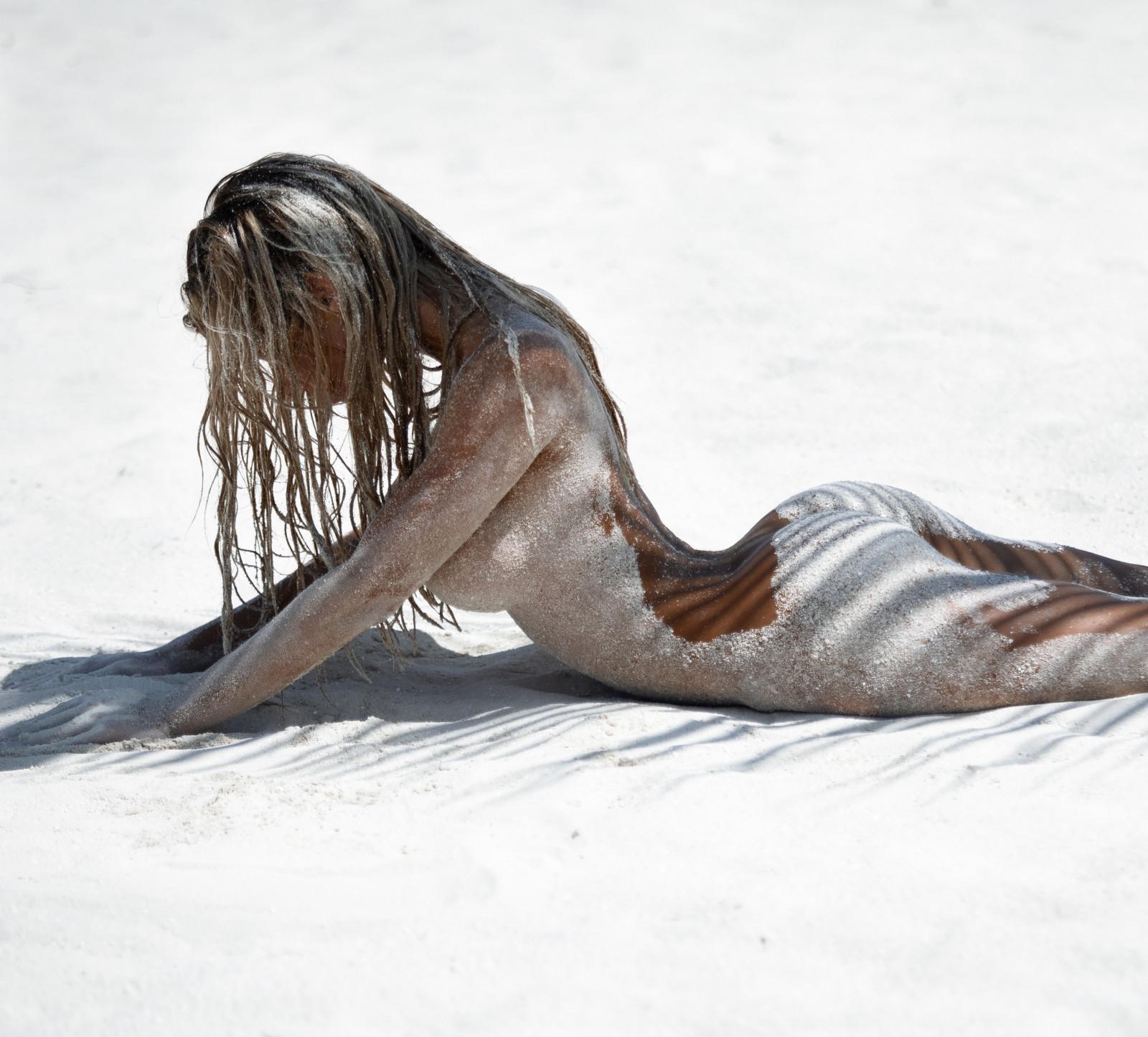 Wallpaper : Nata Lee, nude, beach 4319x3905 - nkym449 ...