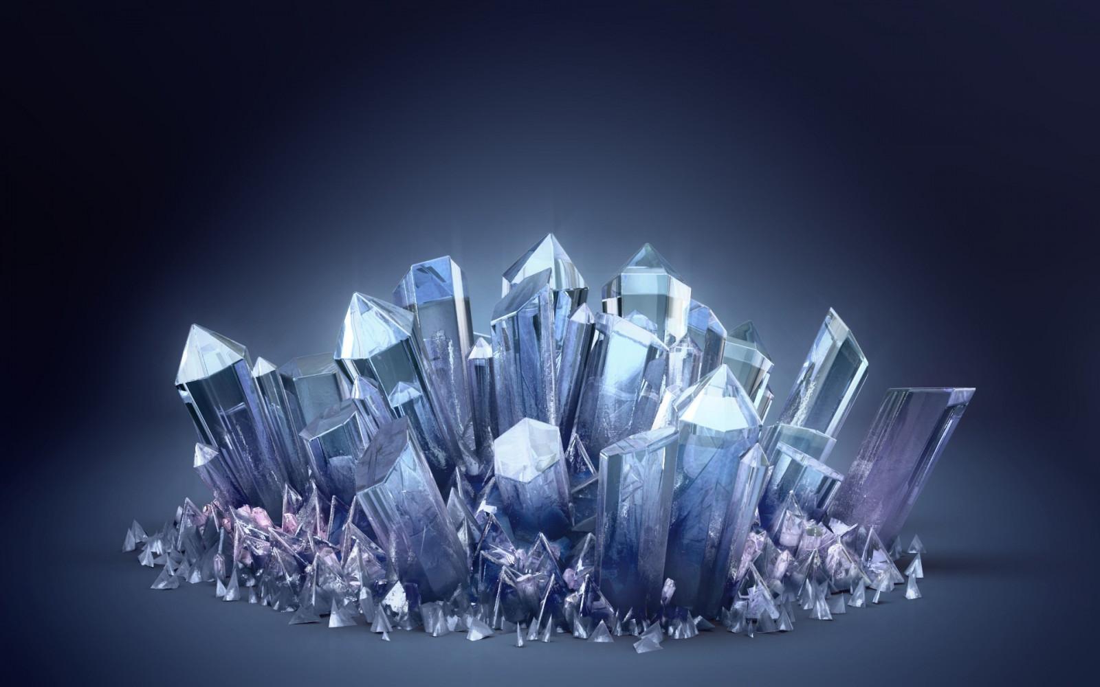 Crystal Wallpaper For Walls: Papel De Parede : Azul, Geometria, Cristal, Química, Luz