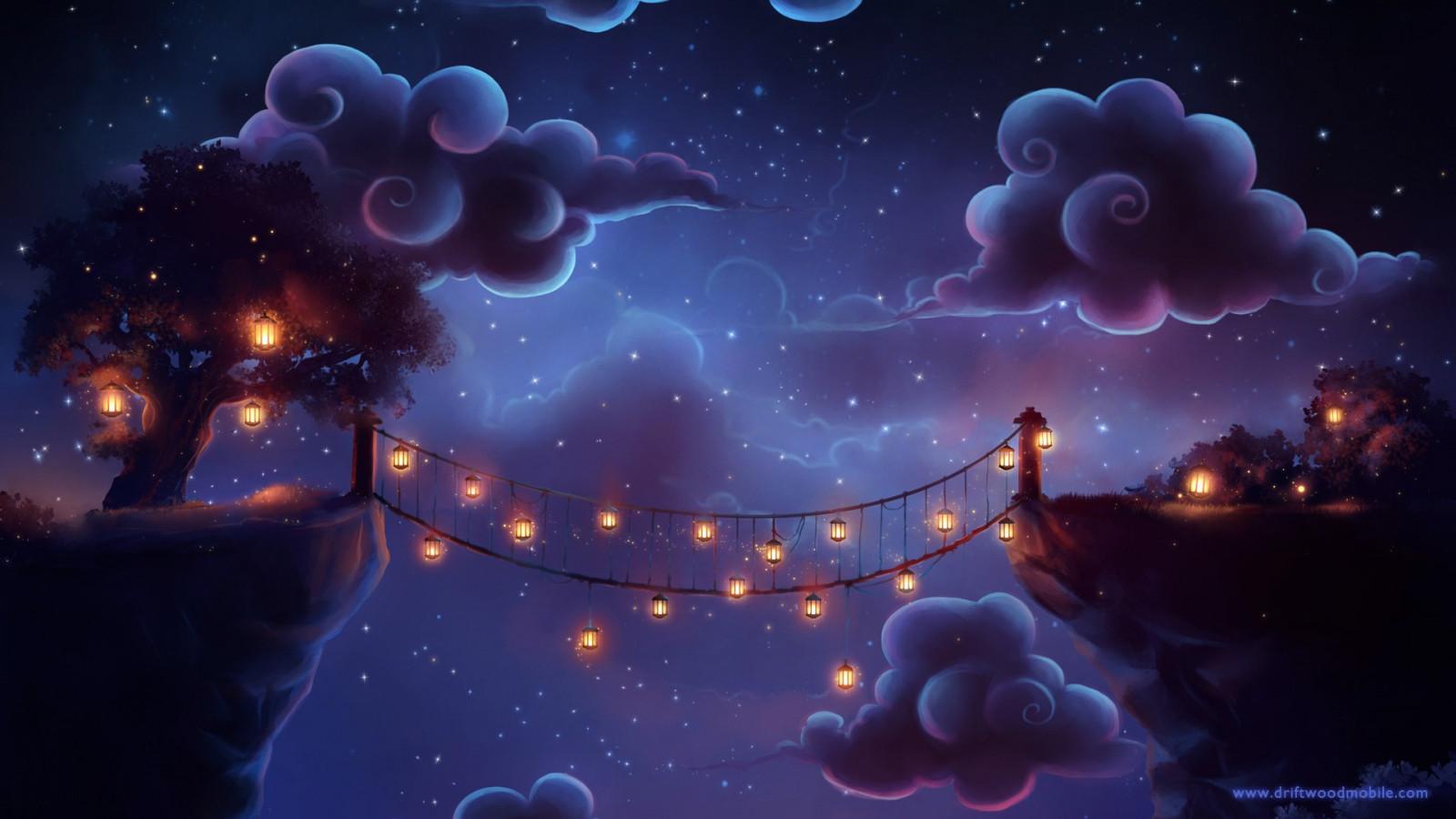 https://c.wallhere.com/photos/d7/b0/clouds_artwork_lantern_bridge_cliff_stars_watermarked-159152.jpg!d