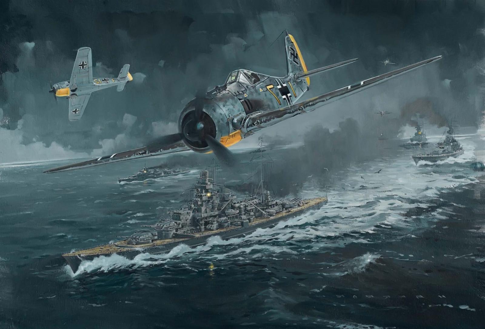 Fond d 39 cran avion allemagne avion militaire sous marin bataille navale porte avions la - Deuxieme porte avion francais ...