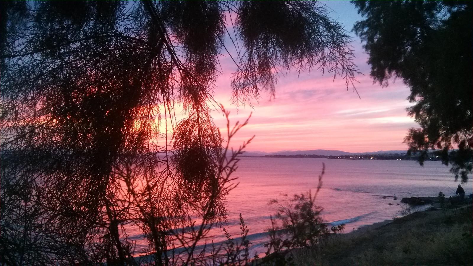 Sfondi Luce Del Sole Paesaggio Tramonto Mare Notte Lago