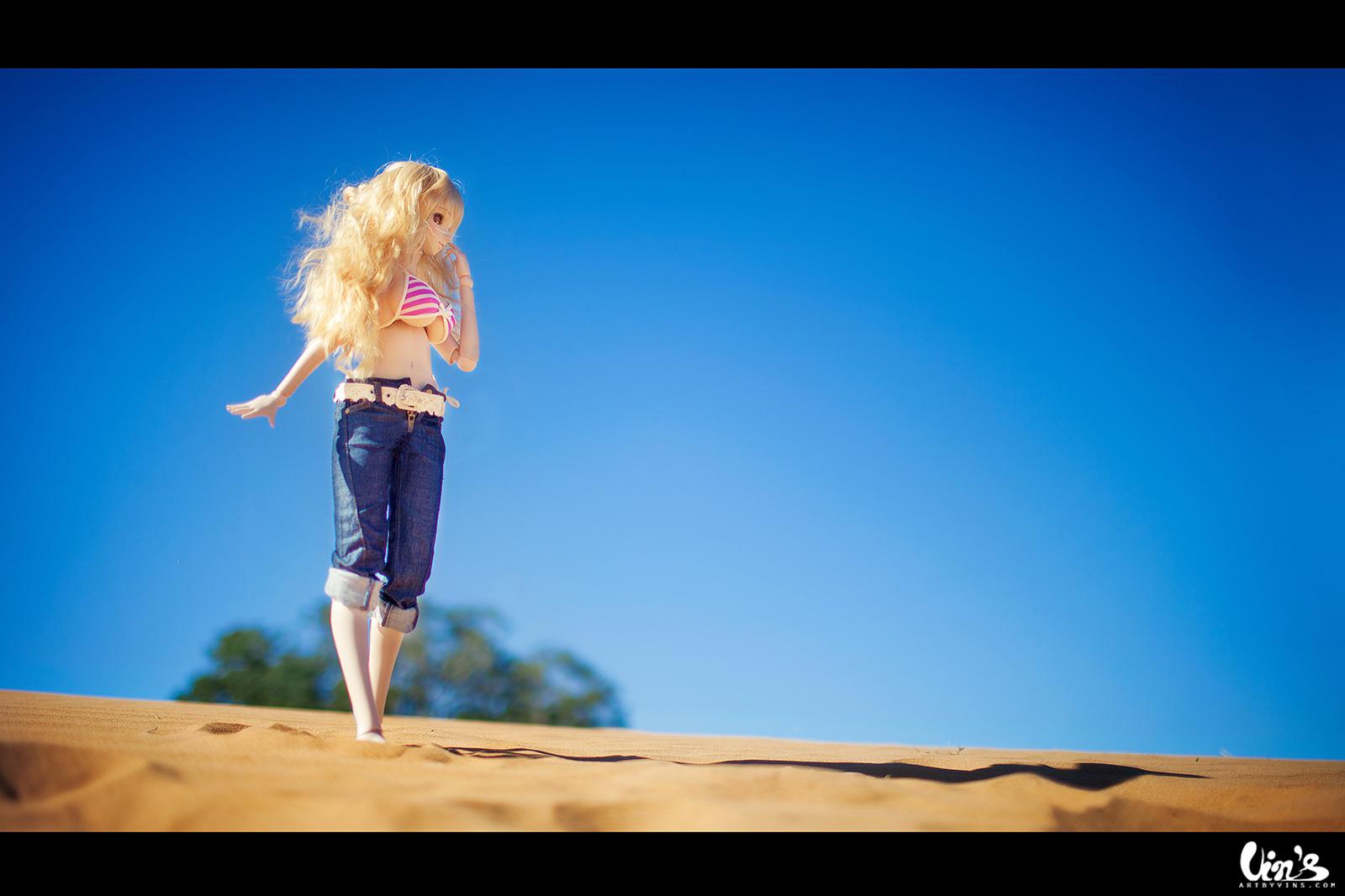 Wallpaper Anime Sand Sky Photography Blue Sun Desert
