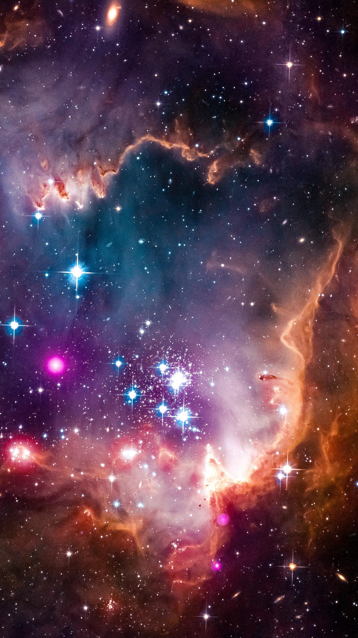 Fond d'écran : espace, galaxie, verticale, Affichage du portrait 1242x2208 - Linez - 1183090 ...