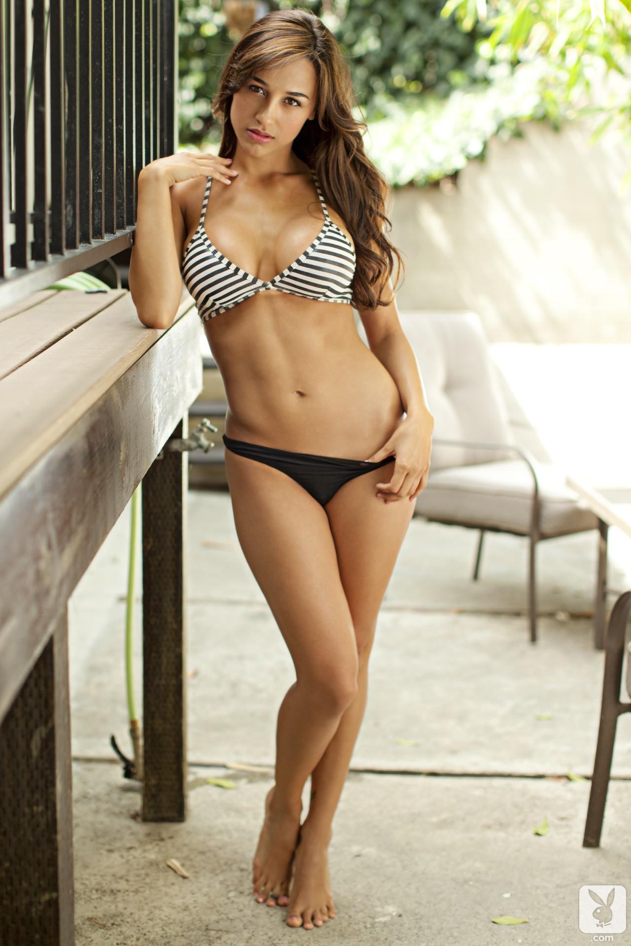 Ana Cheri Playboy wallpaper : ana cheri, women, model, brunette, bikini, big