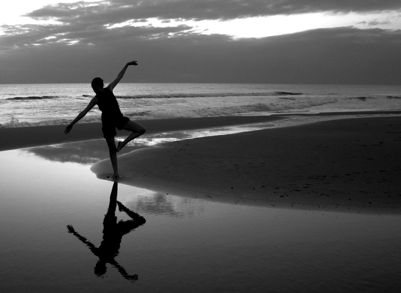 Sfondi Mare Ritratto Nero Bianco Donna Danza Ballerina