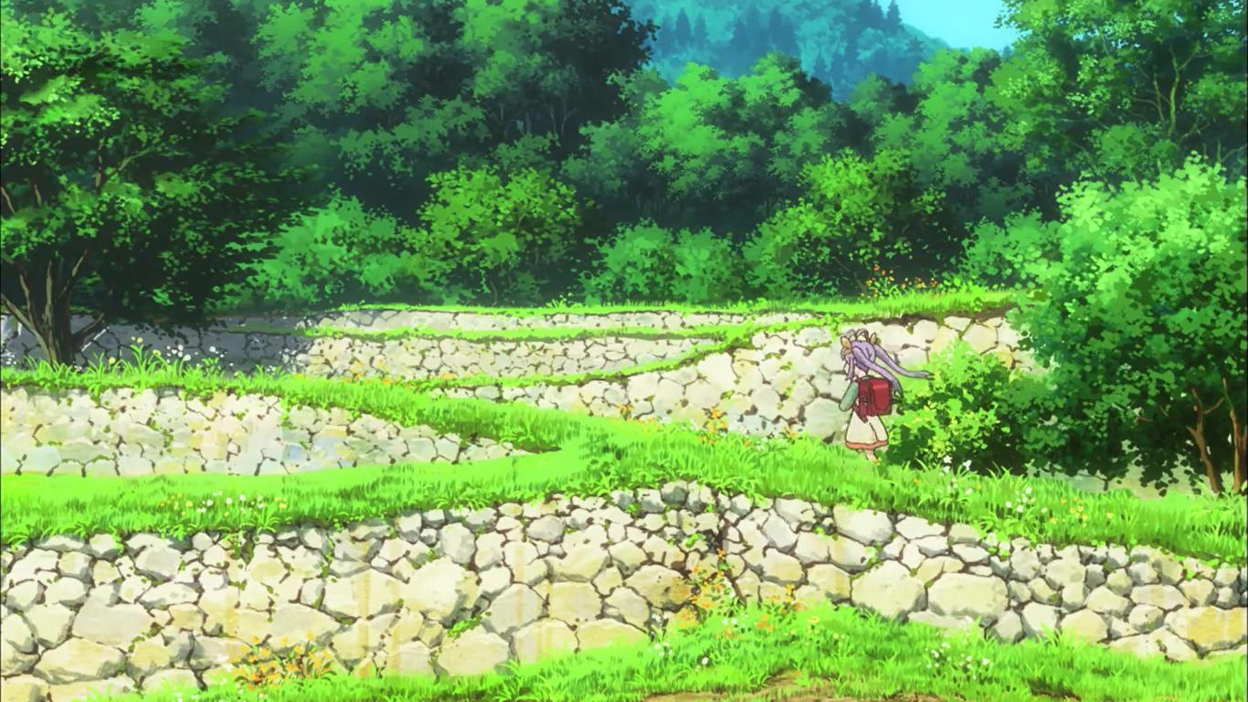 Fond D Ecran Paysage Jardin Anime La Nature Champ Vert Non