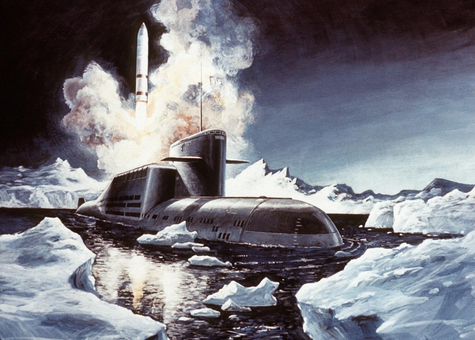 Картинки с подводной лодкой на 23 февраля, открытка днем