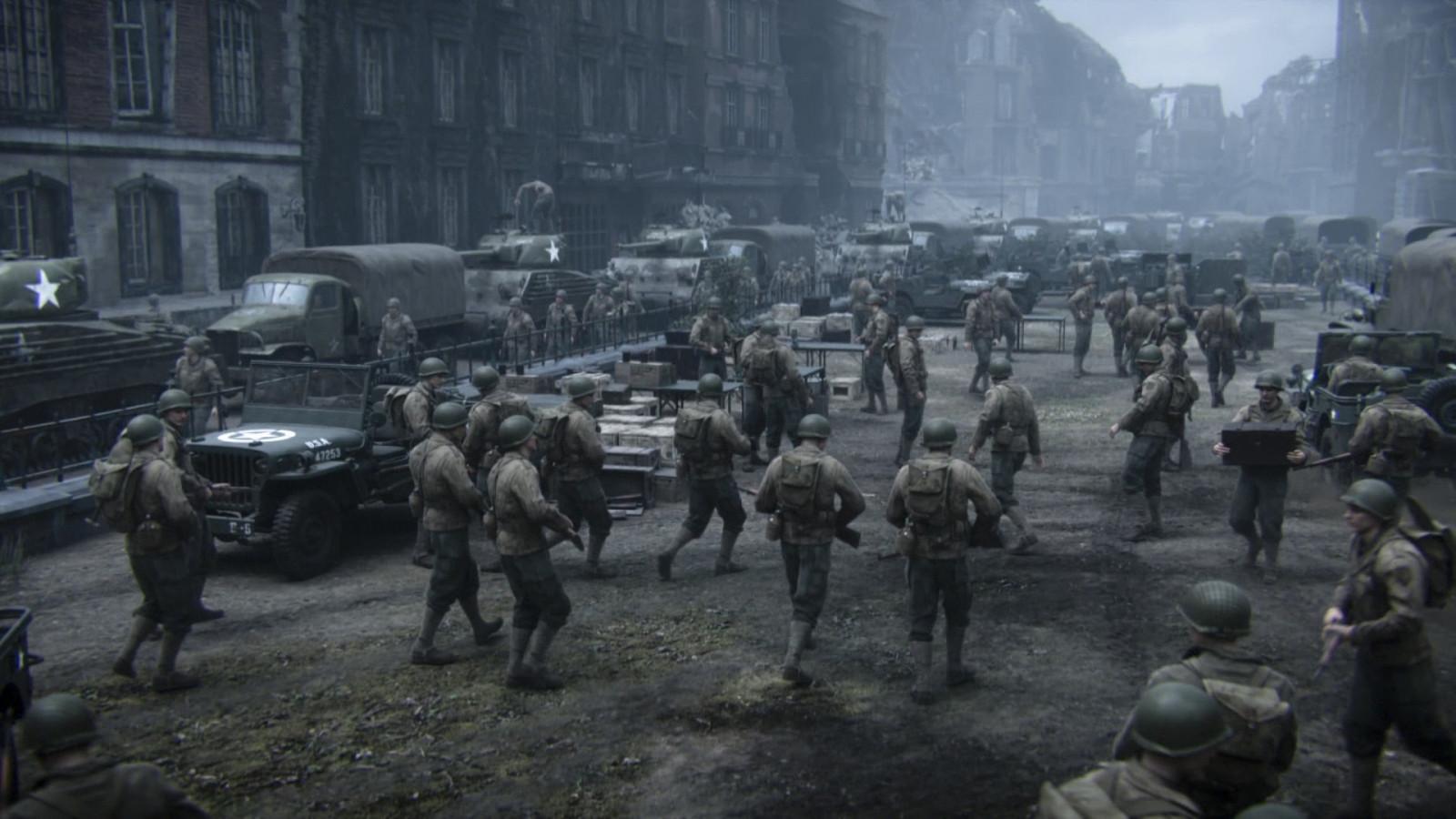 Obr zky na plochu call of duty wwii druh svetov vojna - Cod ww2 4k pc ...