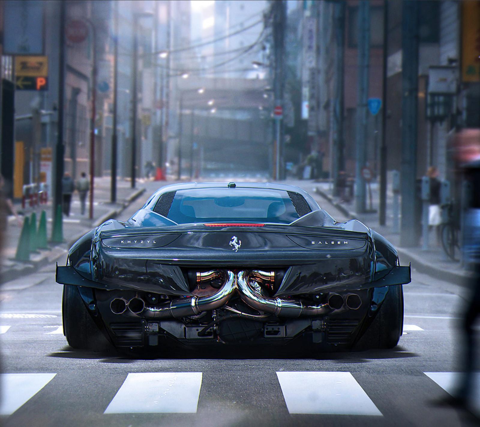 Ferrari Car Wallpaper: Wallpaper : Lamborghini Aventador, Sports Car, Khyzyl