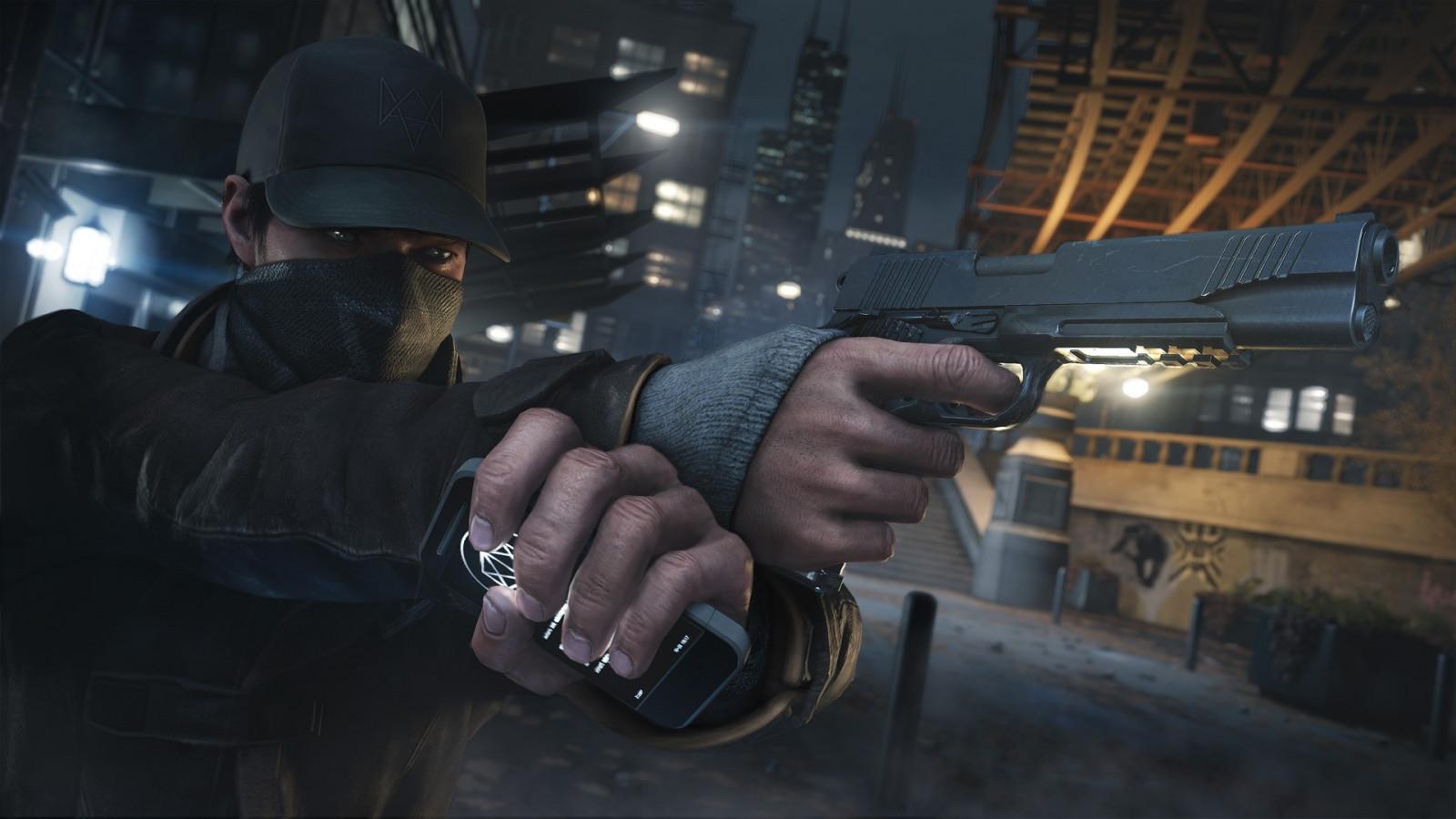people soldier Watch Dogs darkness screenshot 1920x1080 px pc game action film mercenary firearm