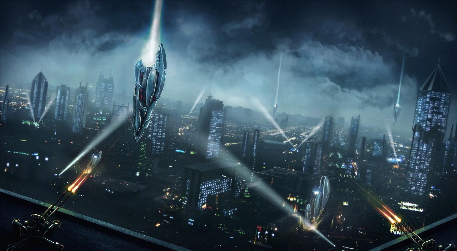 cityscapes futuristic wallpaper 1900x1041 - photo #11