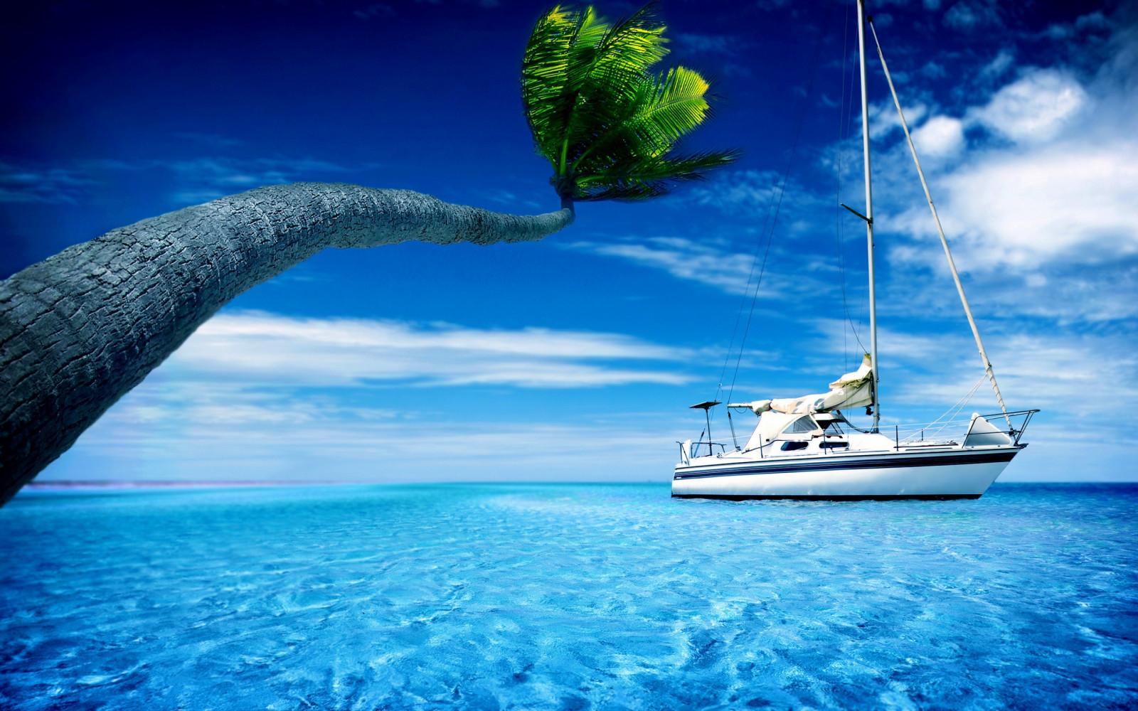 3840x2400 wallpaper ocean boat -#main