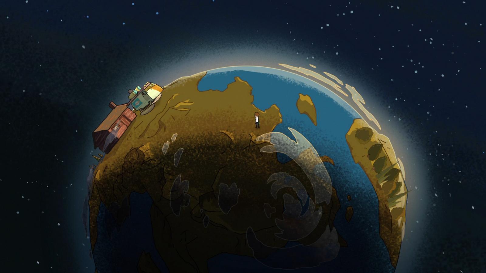 Tapety Ilustrace Planeta Prostor Kreslena Pohadka Atmosfera