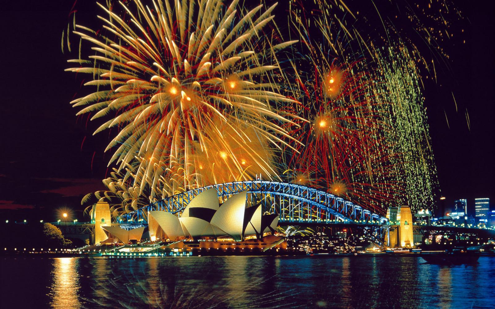 Neujahr Australien