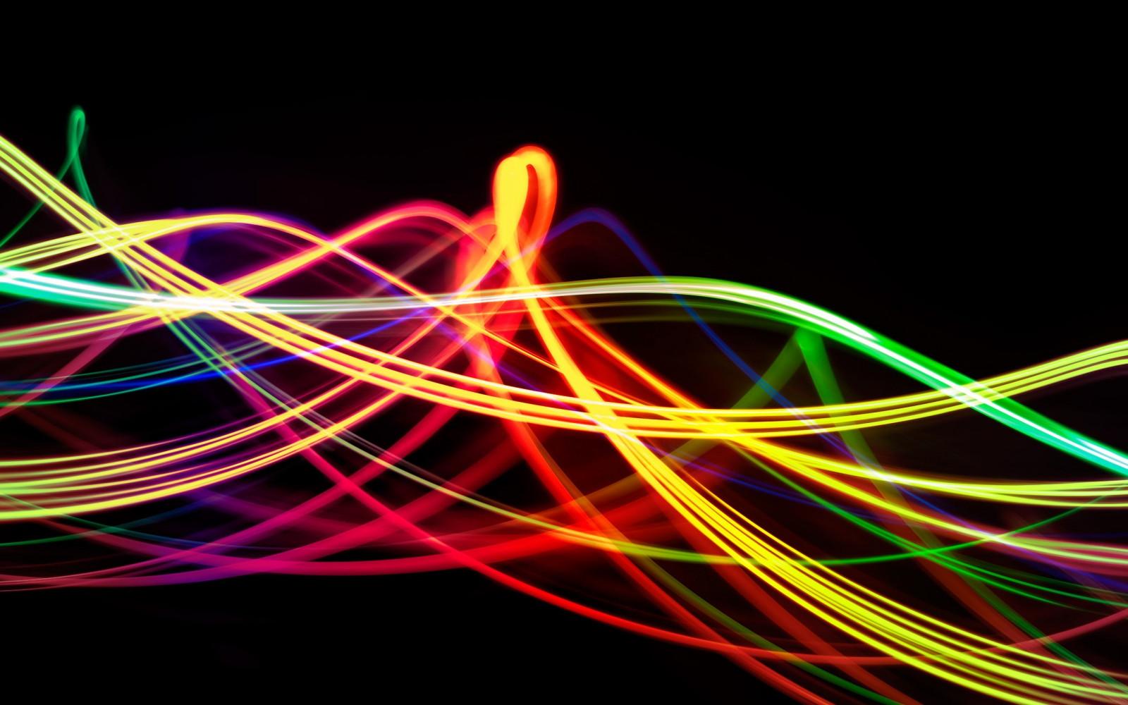 Wallpaper : lights, colorful, neon, abstract, circle ...