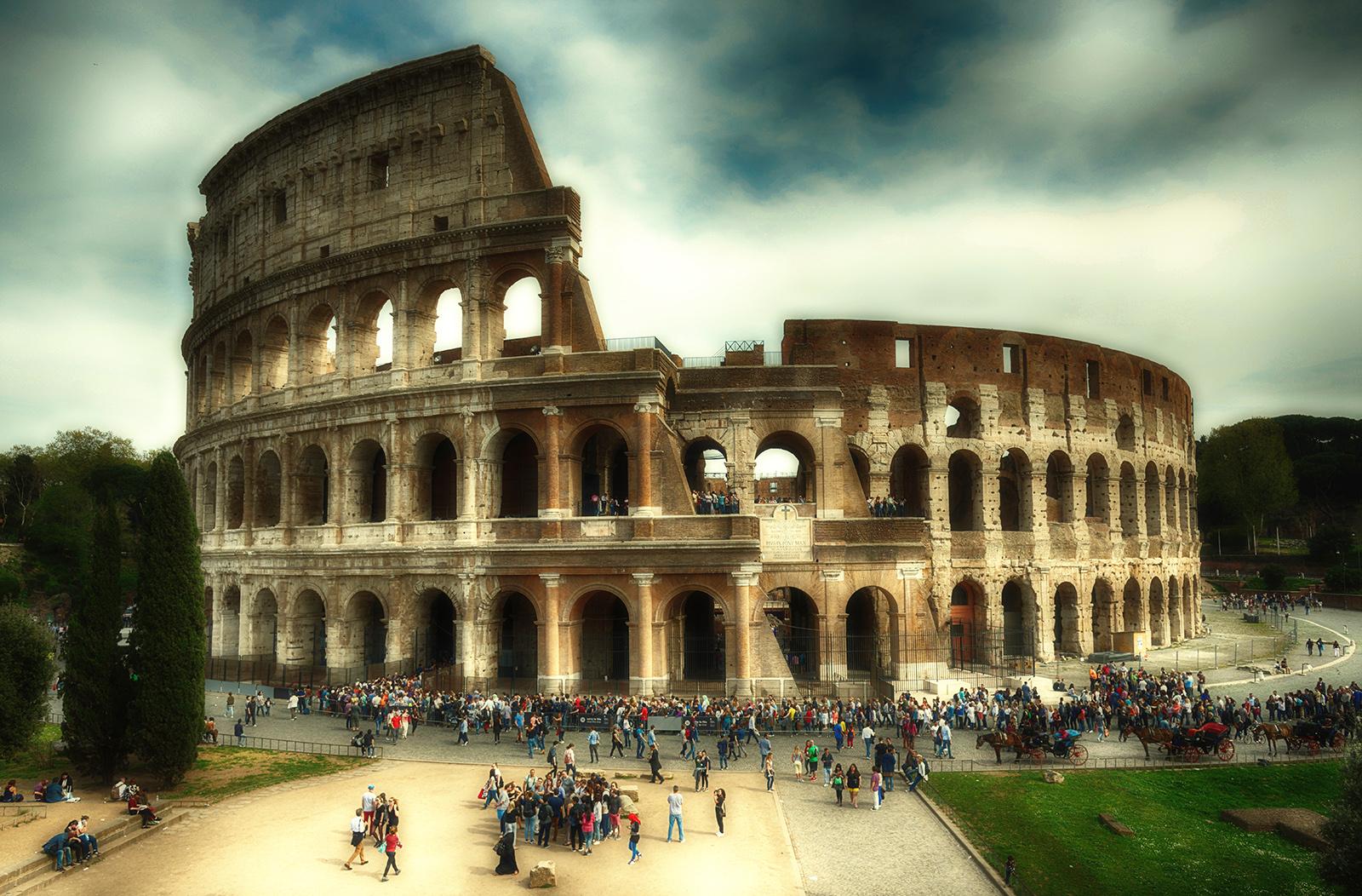 wallpaper : roma, rom, rome, kolosseum, colosseo, coliseum, italien