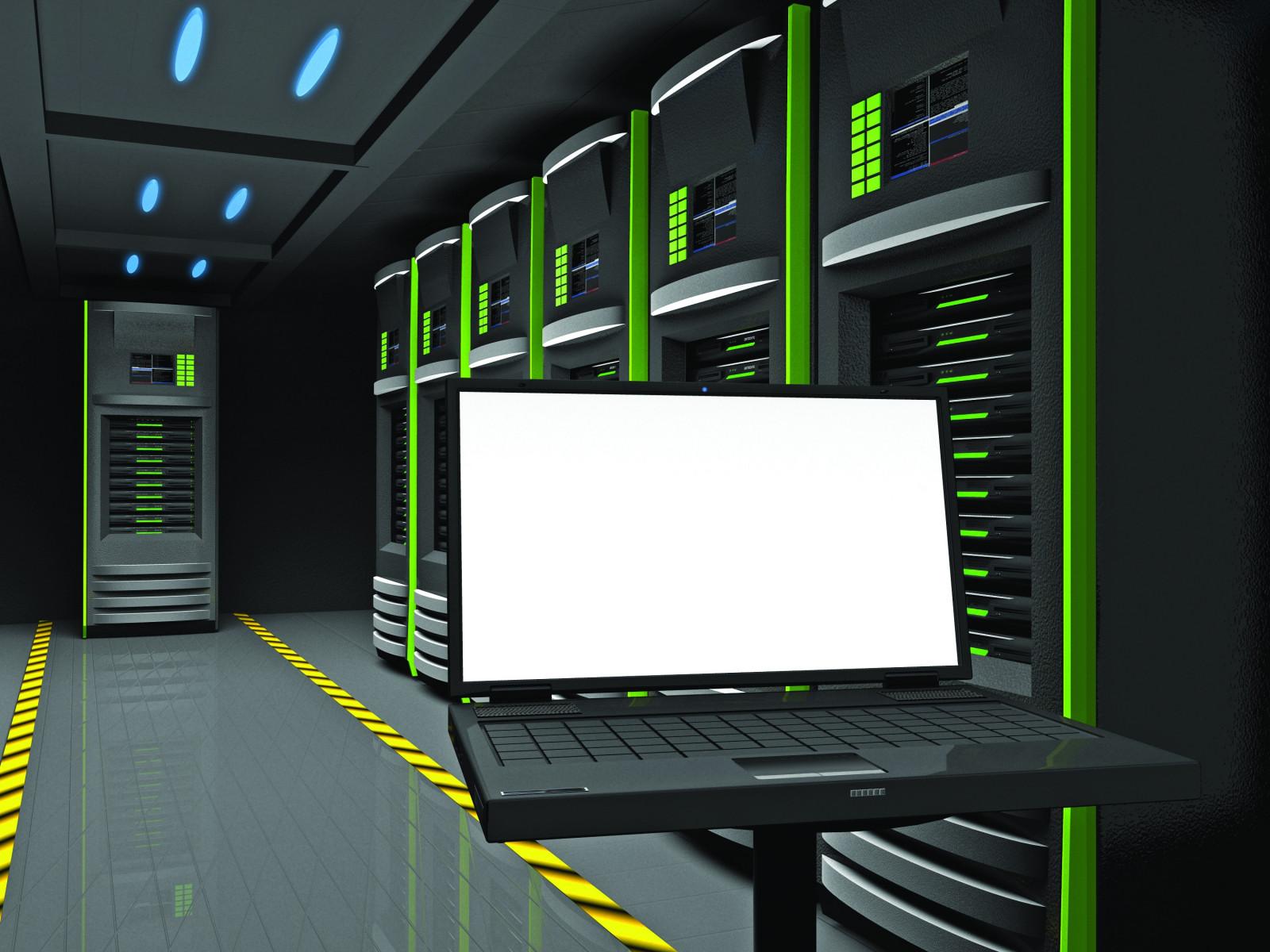 Wallpaper : Laptop, Management, Server, Administration, 3d