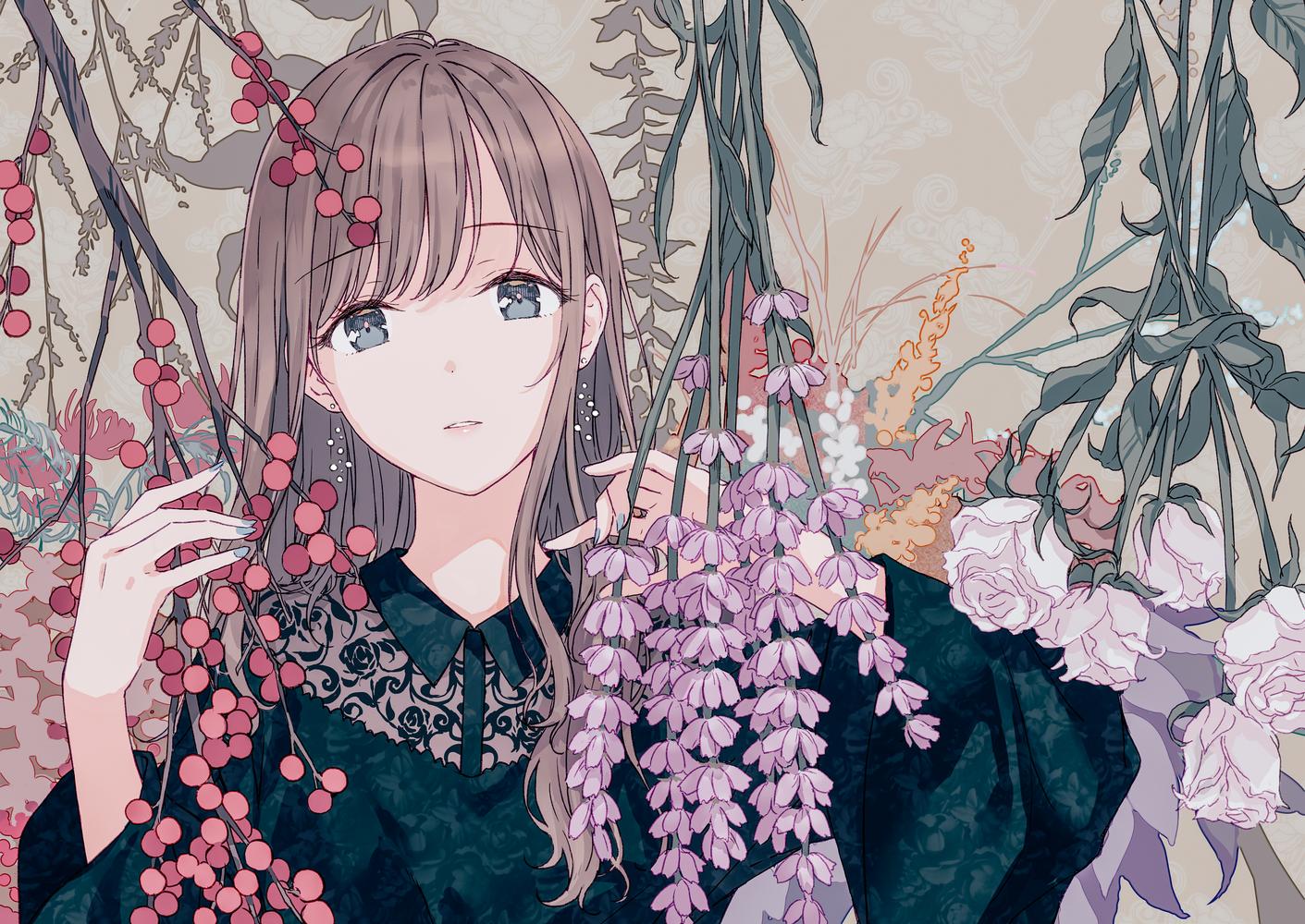 Wallpaper Hiten Women Anime Girls Digital Art Artwork