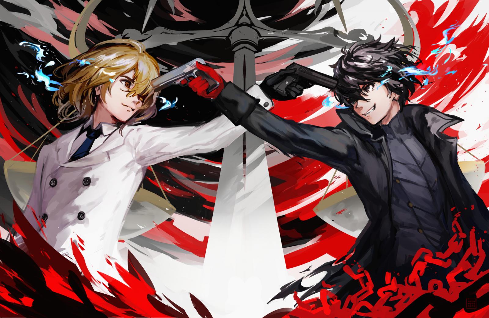 Wallpaper : Persona 5, Akira Kurusu, Persona series ...