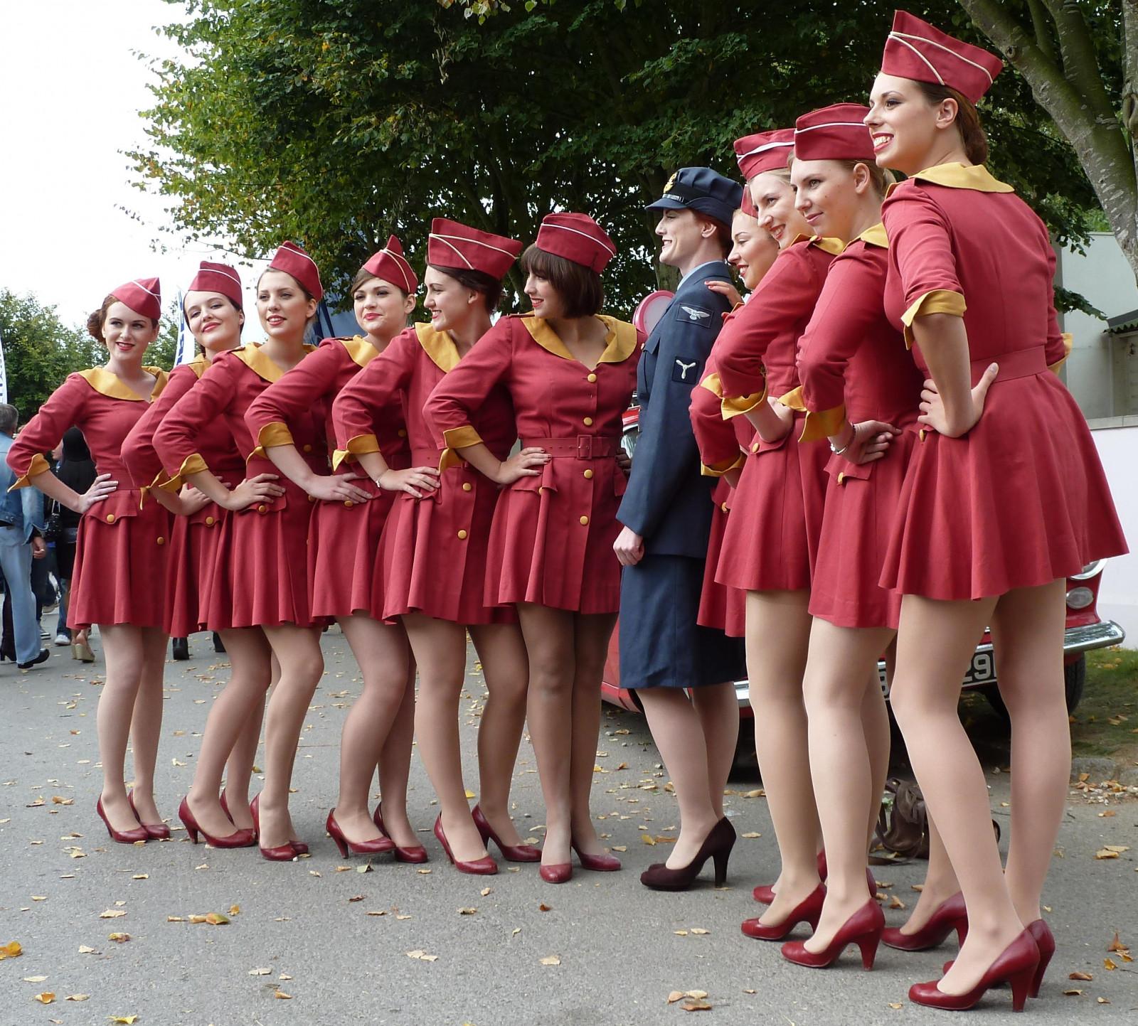 Wallpaper : Red, Legs, Dress, Pink, Uniform, 2010, Girl
