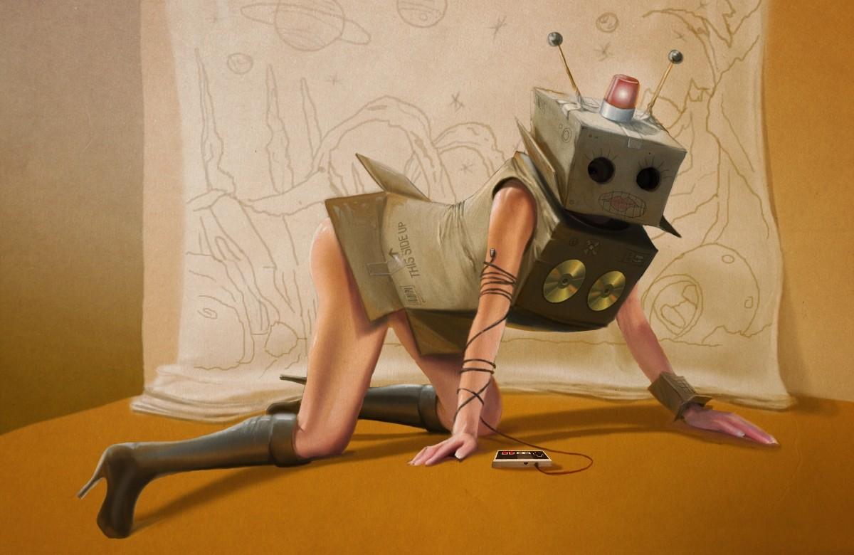Робот как сделать девушку