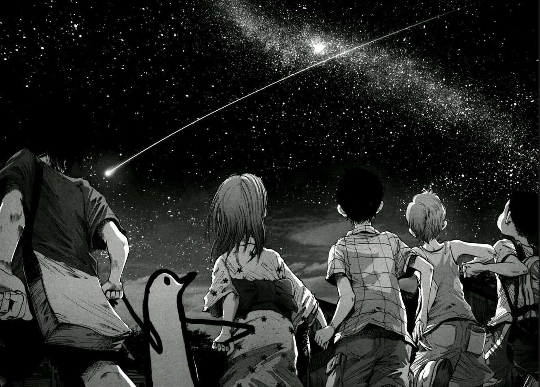 Wallpaper : manga, Oyasumi Punpun, monocromatic, darkness