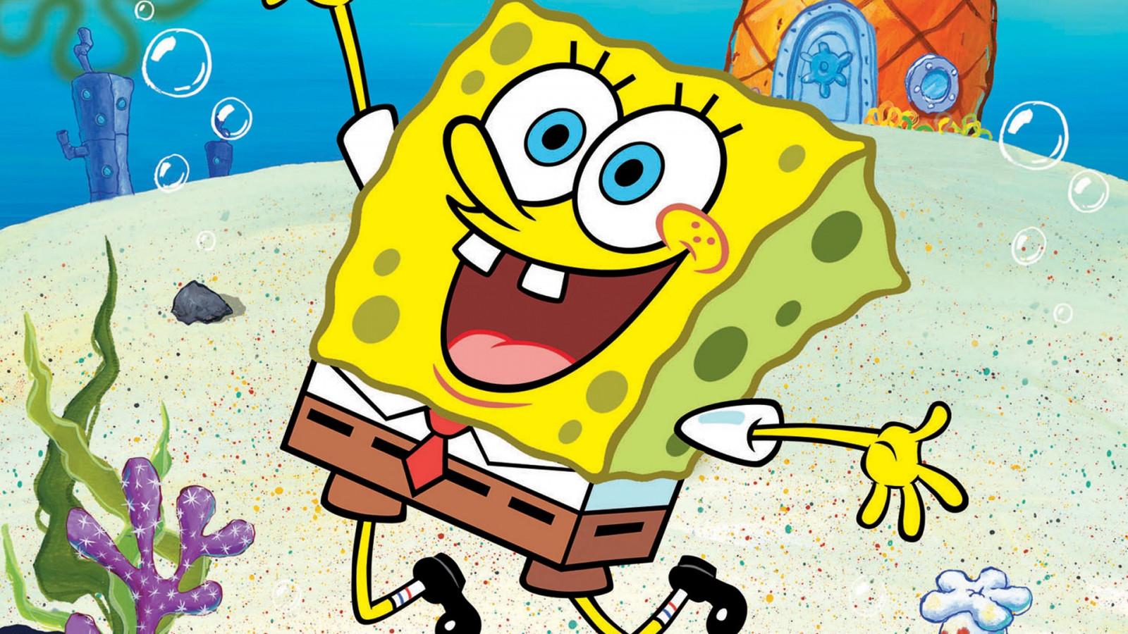 Wallpaper : illustration, cartoon, SpongeBob SquarePants, ART ...