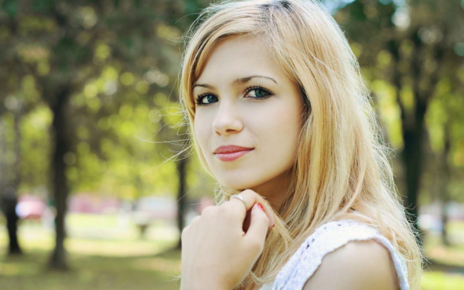 фото картинки простых девушек блондинок светловолосых