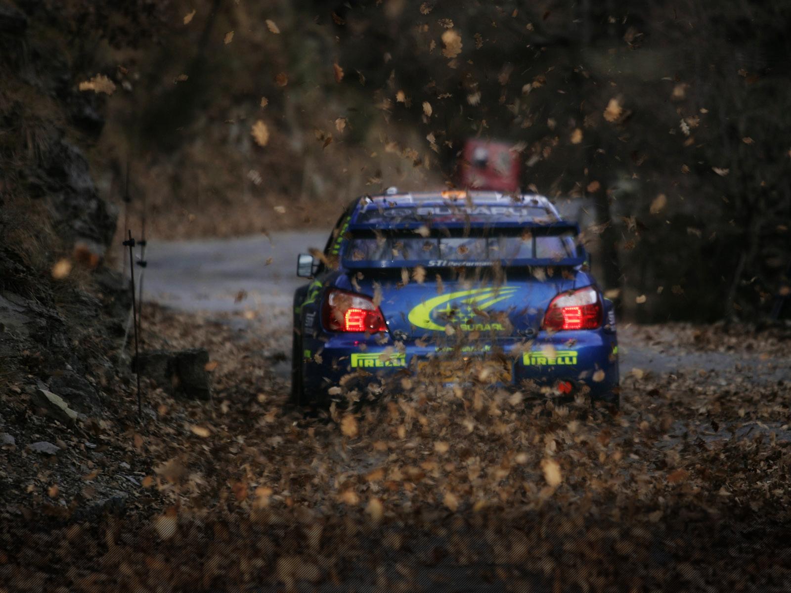 Sports Leaves Car Blue Cars Vehicle Rally Cars Subaru Racing Subaru Impreza  Motorsport Auto Racing Rallying