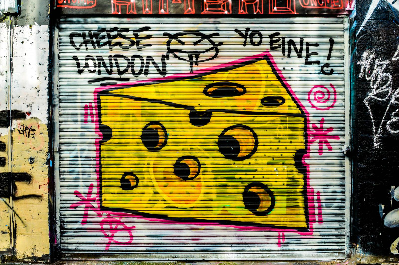 Wallpaper : London, abstract, wall, cheese, yellow, triangle, Nikon ...