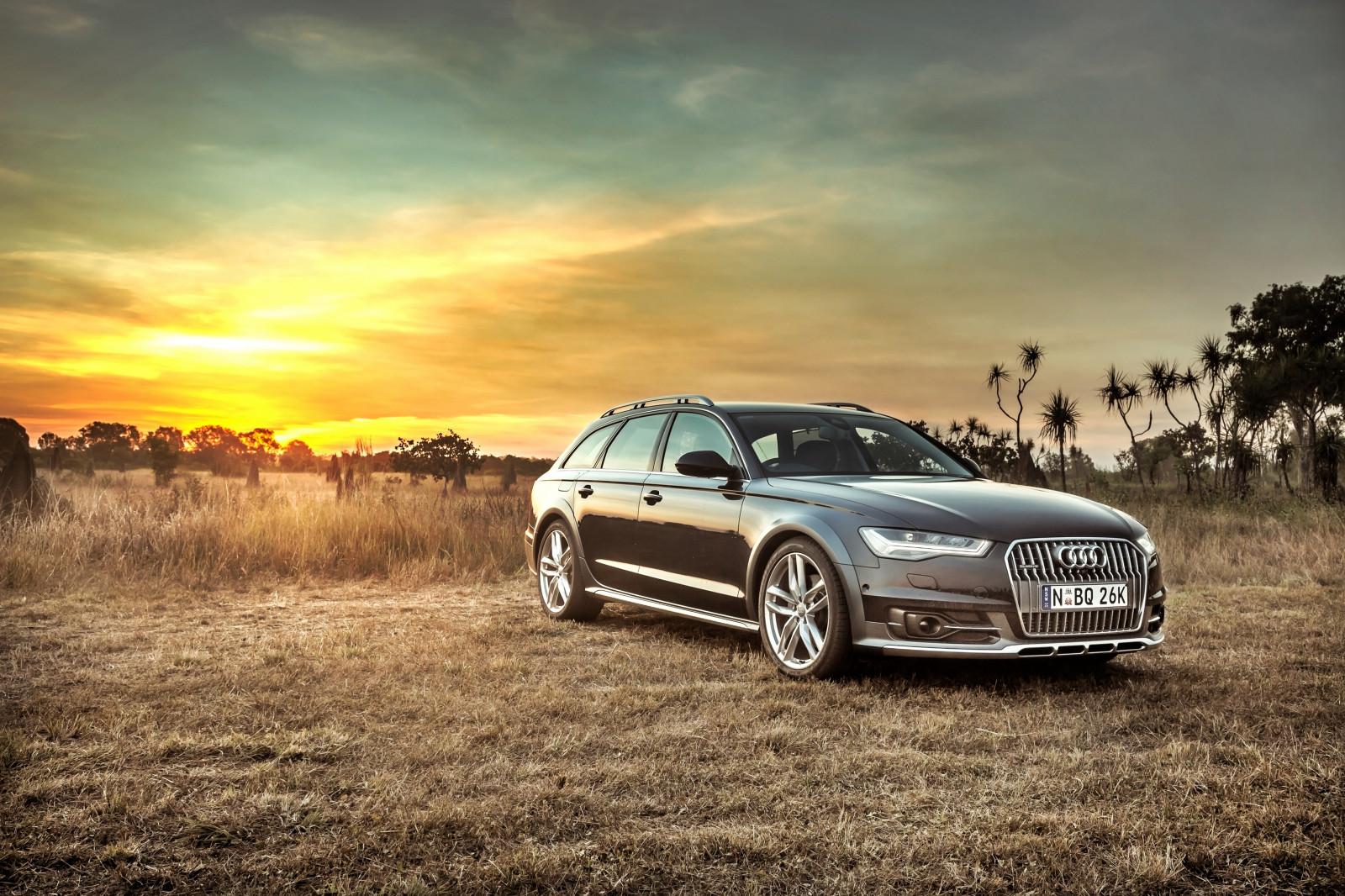 Fond D'écran : Audi, A6, Allroad, Vue De Côté, HDR