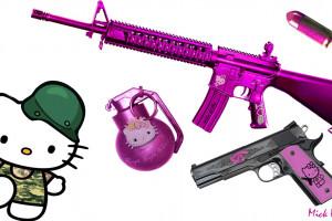 Hello Kitty Gun Wallpaper