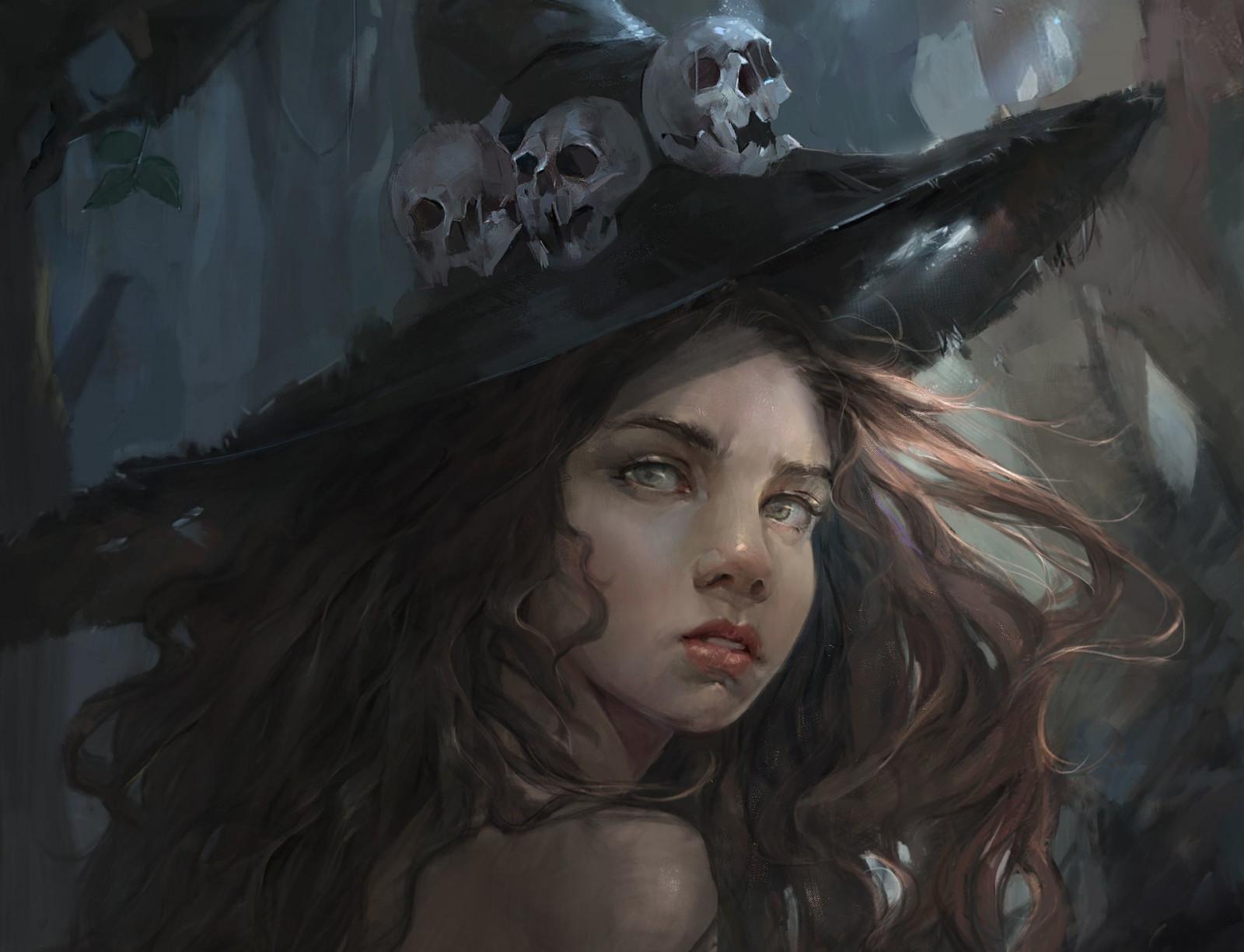 Днем, картинки ведьмочки красивые