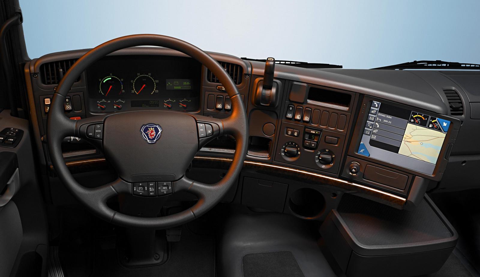 Car Vehicle Scania Truck Cockpit Steering Wheel Automotive Exterior Automobile Make Luxury Part