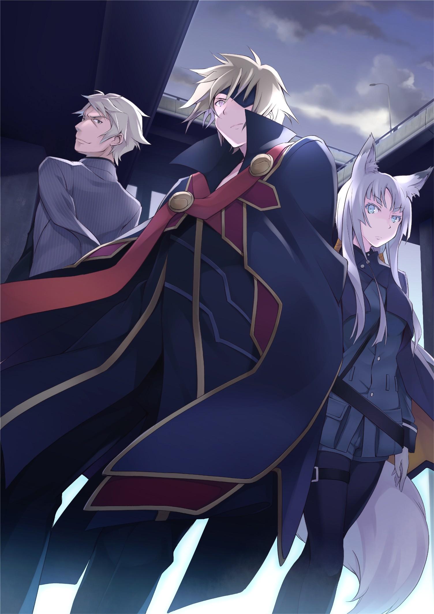 Illustration Anime Tokyo Ravens Tsuchimikado Harutora Hishamaru Kakugyouki Screenshot Mangaka