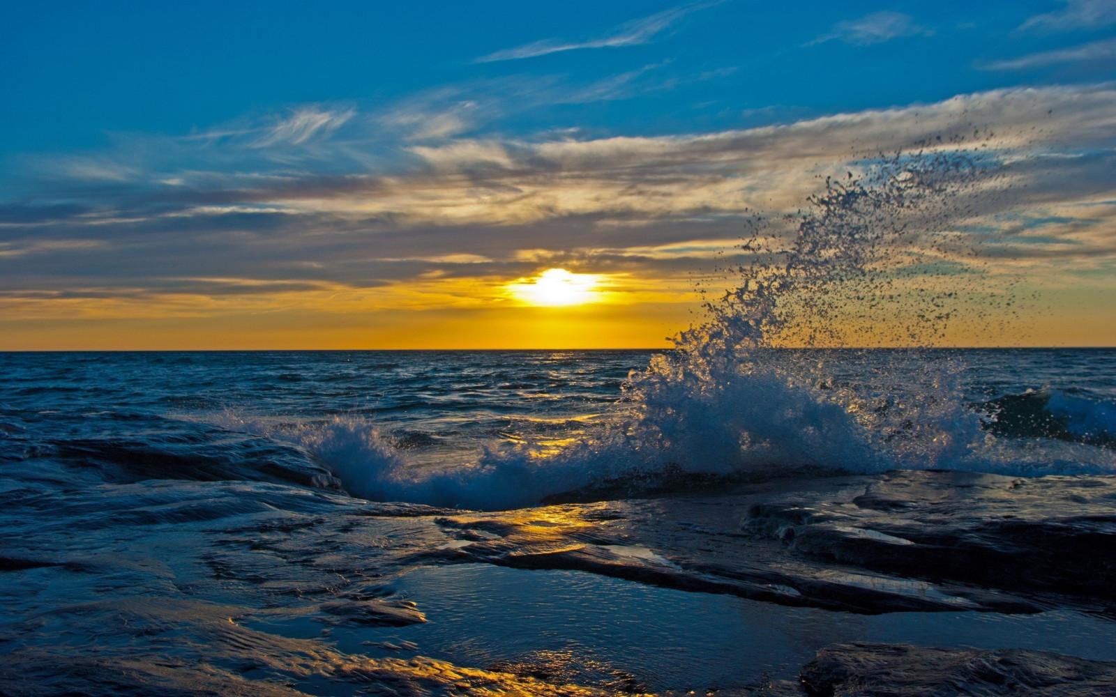 Спасибо всем, картинки море волны солнце