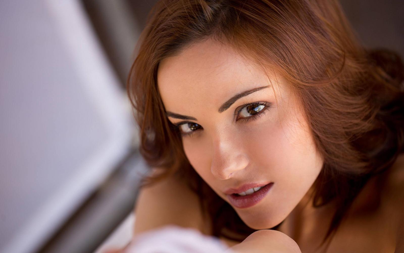 Wallpaper : model, brunette, long hair, women outdoors