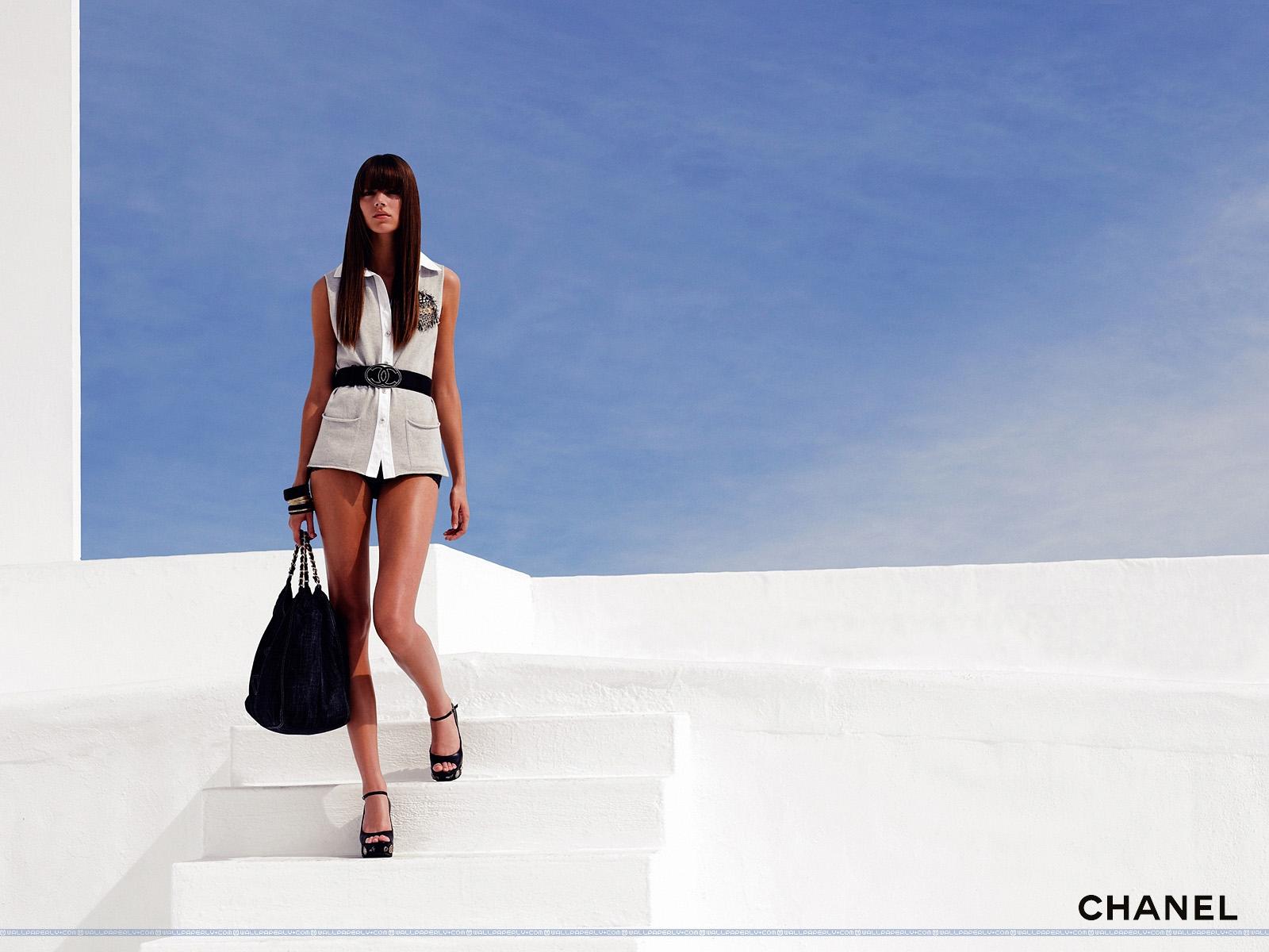 Sfondi Modello Moda Azienda Estate Chanel Marca Top Model